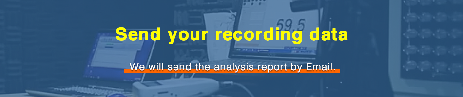 Send your recording data.