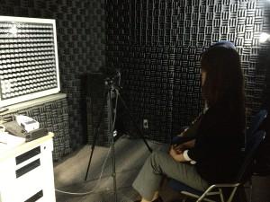 スタジオ内